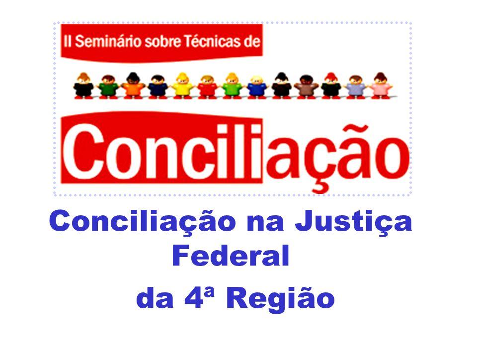 Conciliação na Justiça Federal da 4ª Região