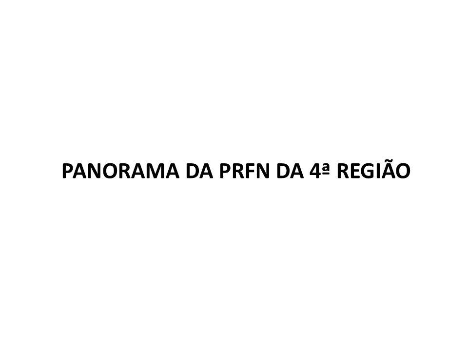 PANORAMA DA PRFN DA 4ª REGIÃO