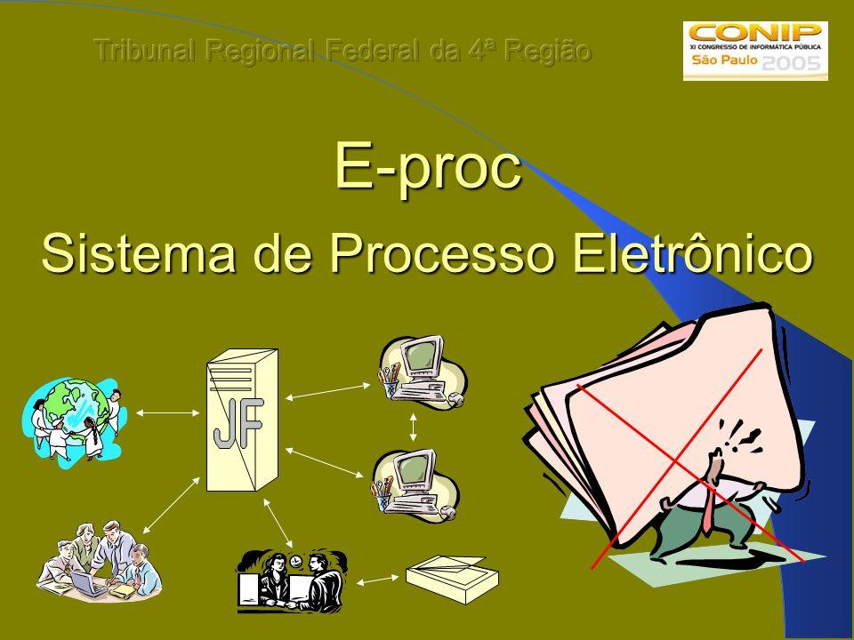 E-proc Sistema de Processo Eletrônico