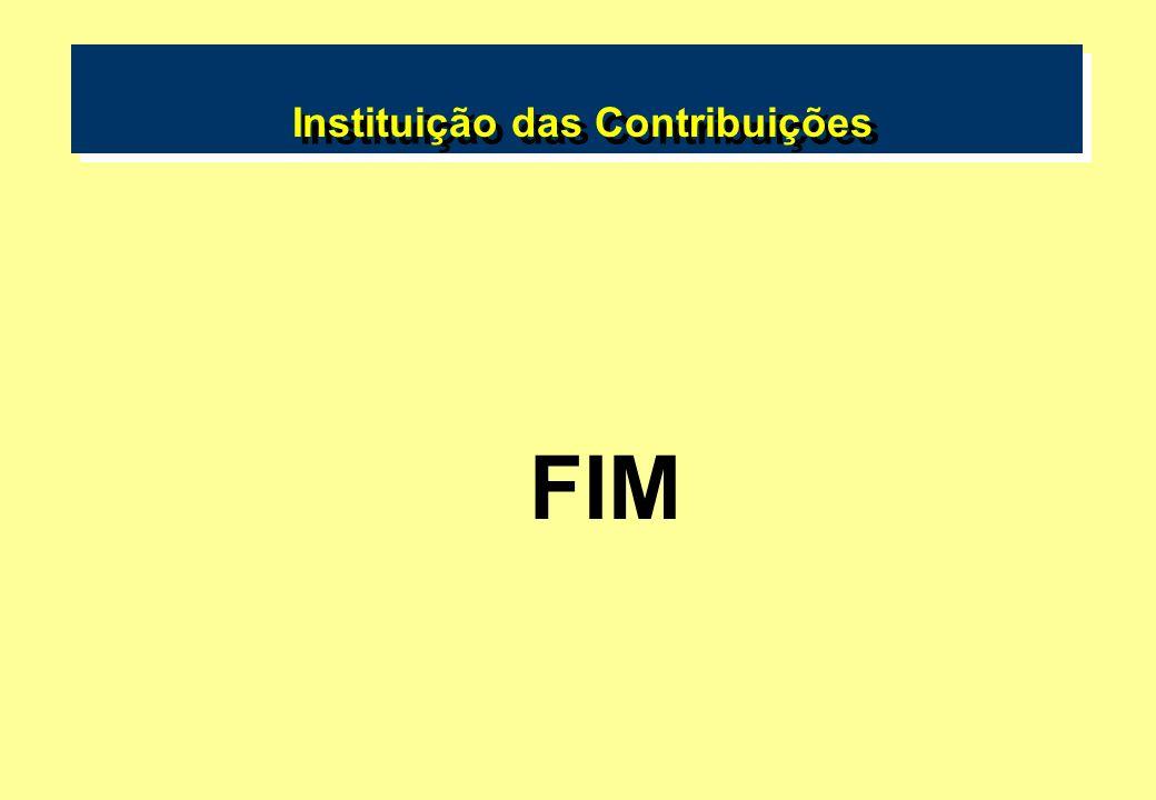 Instituição das Contribuições FIM