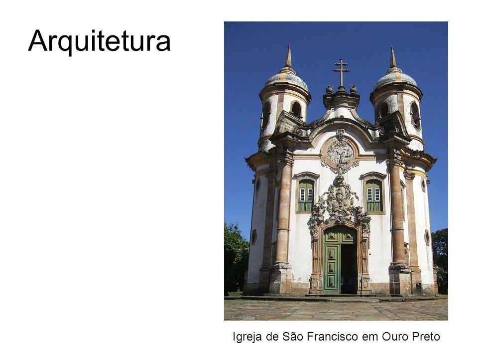 Arquitetura Igreja de São Francisco em Ouro Preto