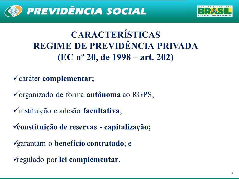 18 Relação entre a EFPC/Patrocinador/Instituidor A EFPC possui personalidade jurídica de direito privado e seu patrimônio é segregado do patrimônio dos planos de benefícios administrados, dos Patrocinadores ou Instituidores; As responsabilidades das EFPCs, enquanto administradoras de planos, não se confundem com as das Patrocinadoras ou Instituidoras; e As responsabilidades das Patrocinadoras e Instituidores são independentes, não se confundem entre elas e não existe a obrigatoriedade de solidariedade.