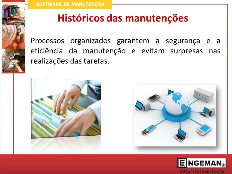 Processos organizados garantem a segurança e a eficiência da manutenção e evitam surpresas nas realizações das tarefas.