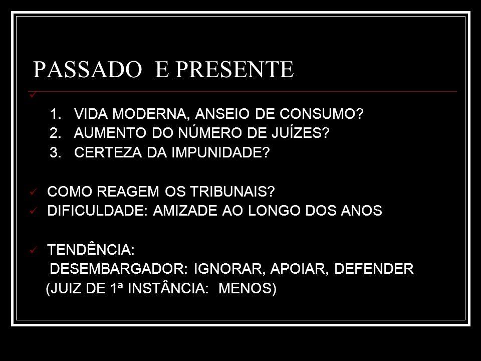 PASSADO E PRESENTE 1. VIDA MODERNA, ANSEIO DE CONSUMO.