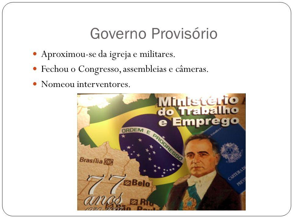 Revolução Constitucionalista A oposição da elite paulista.