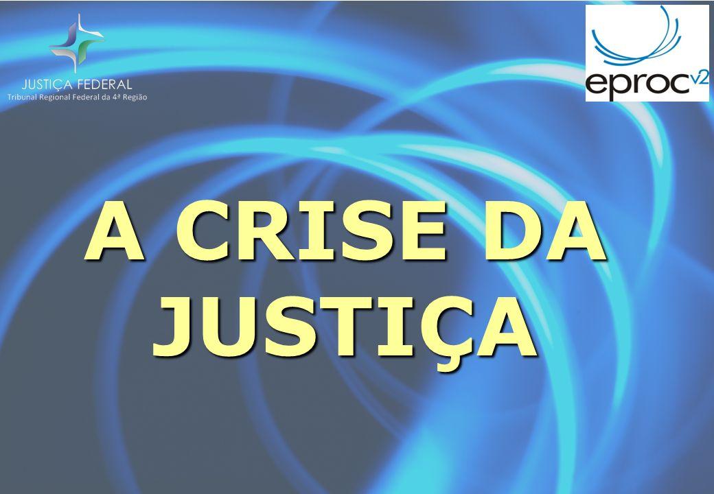 A CRISE DA JUSTIÇA