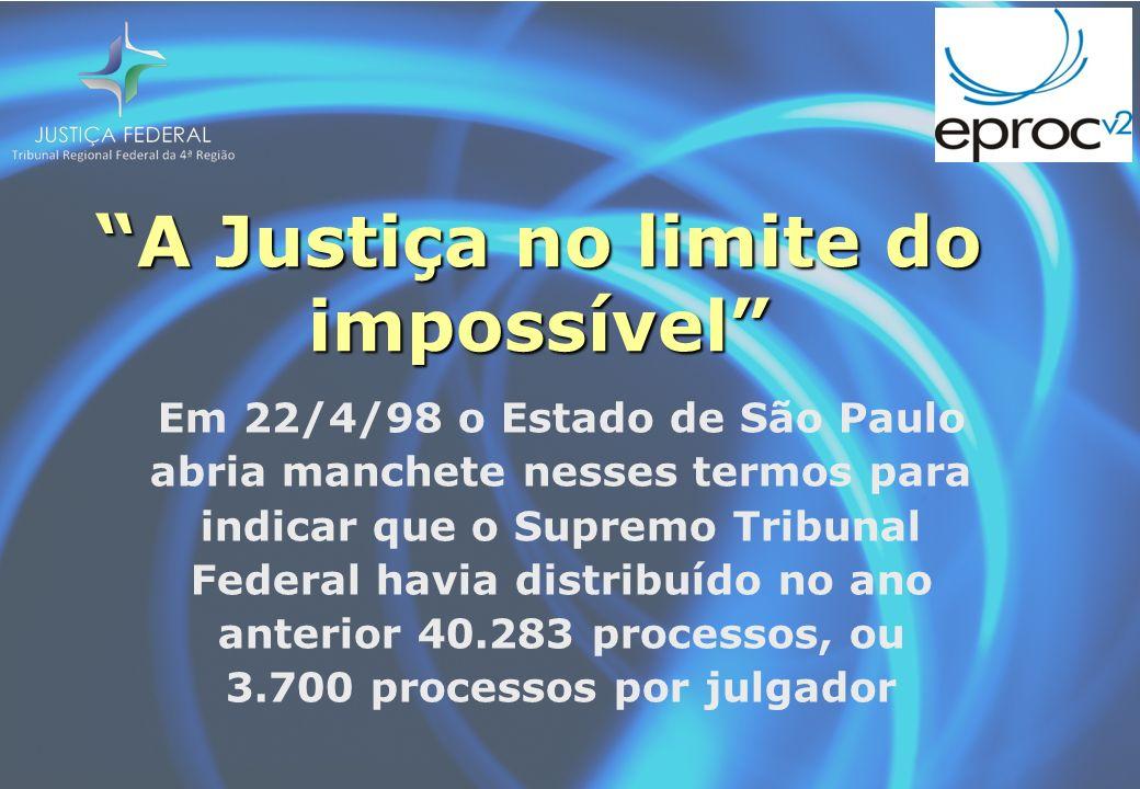 O papel é burocrático por natureza O processo físico contribui para o emperramento do aparato judicial brasileiro