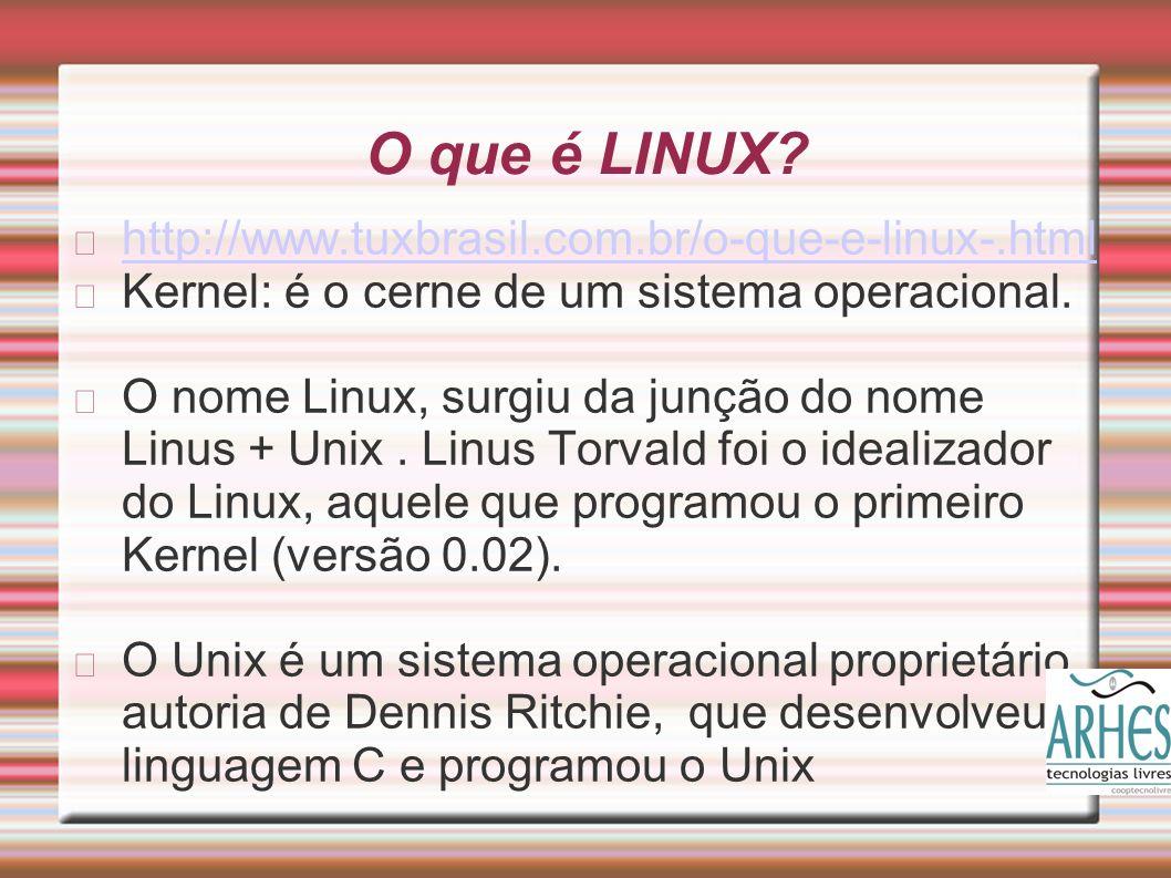 O que é LINUX.