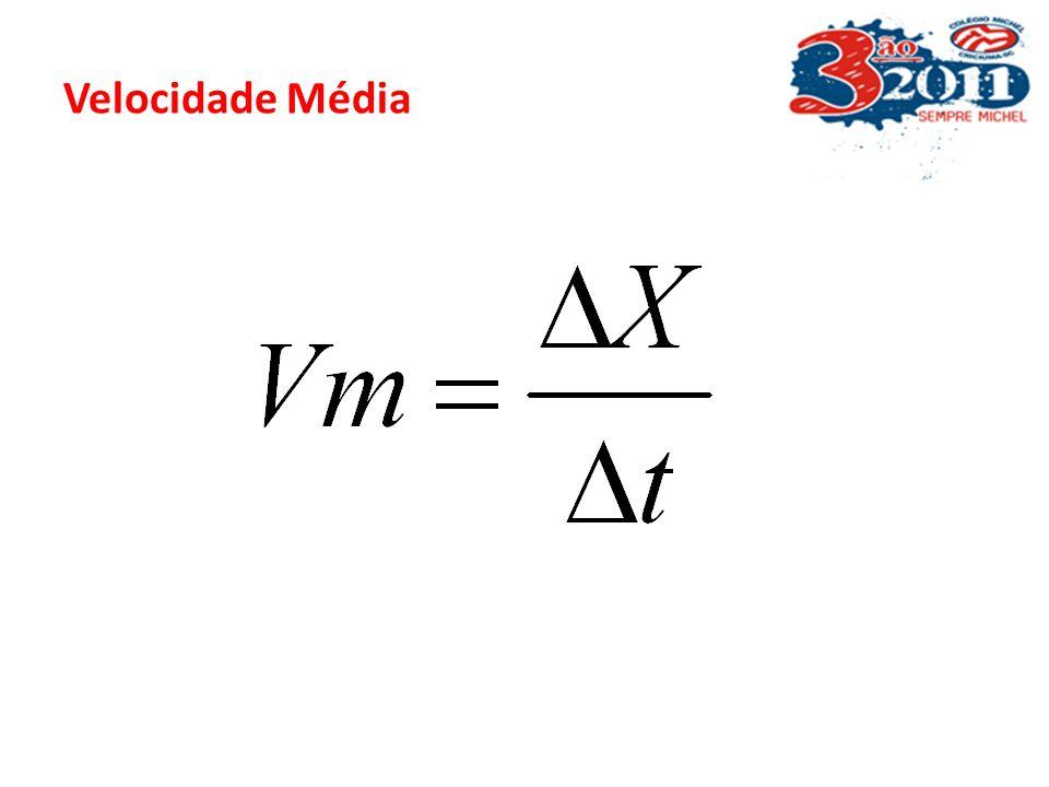 CONCEITOS BÁSICO Exemplo: -10m010m20m30m (m) a) Quanto deslocou ao total, de acordo com a figura, a pequena bolinha? S= S-So = 30 – (-10) = 40m b) Qua