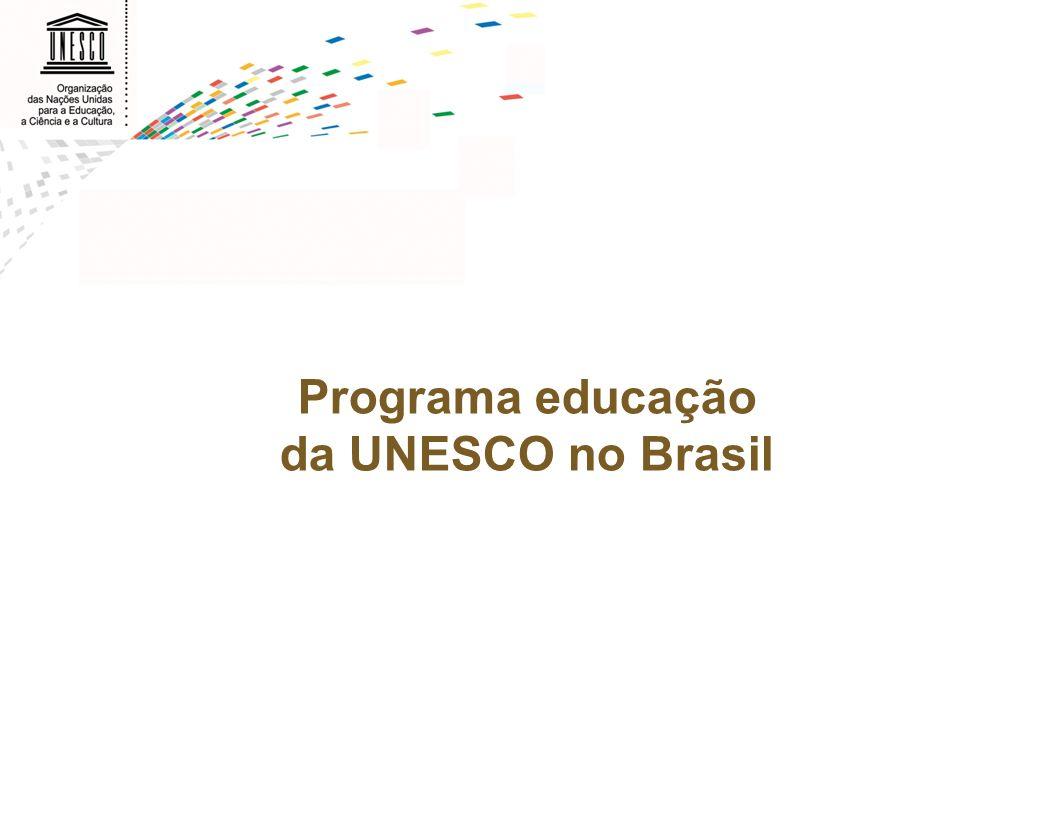 Programa educação da UNESCO no Brasil