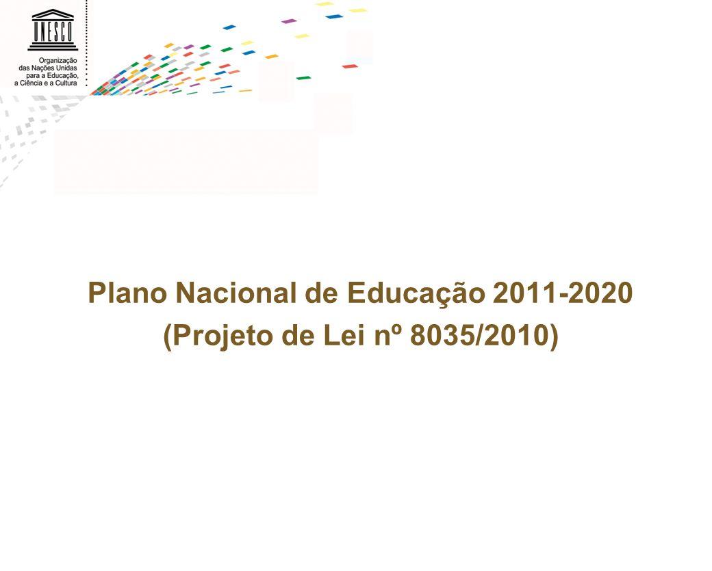 Plano Nacional de Educação 2011-2020 (Projeto de Lei nº 8035/2010)