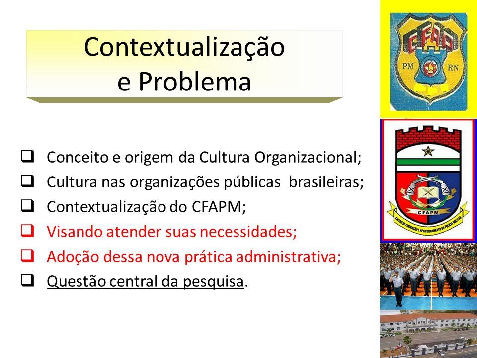 Gráfico 01: Cultura Organizacional predominante no CFAPM.