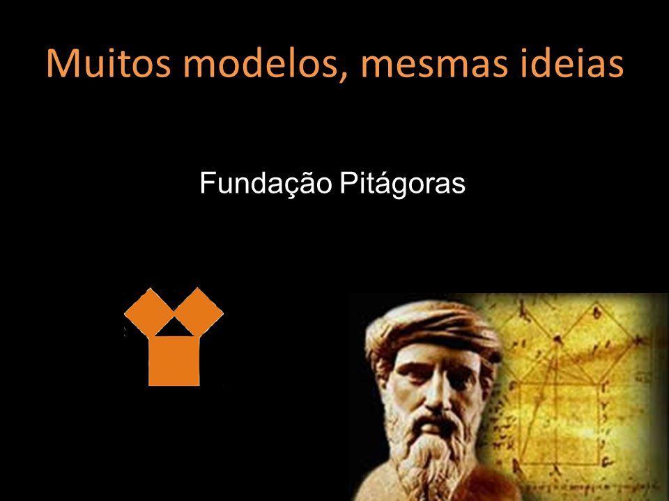 Muitos modelos, mesmas ideias Fundação Pitágoras