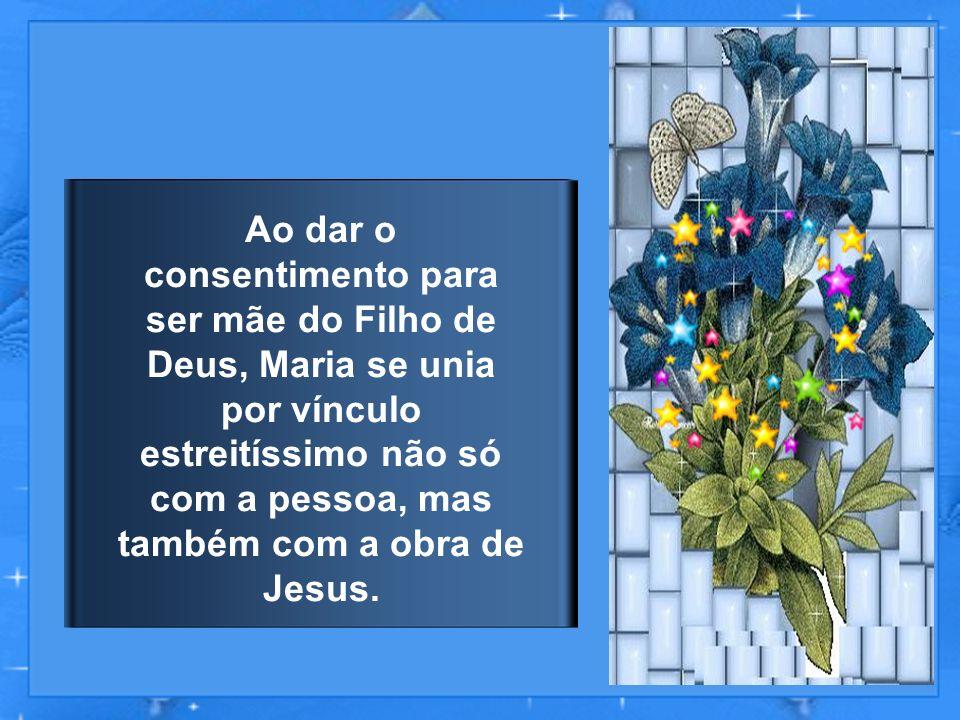 Ó Bem-aventurada Virgem Maria, sois a Mãe da graça, a esperança do mundo, atendei vossos filhos que clamam por vós.