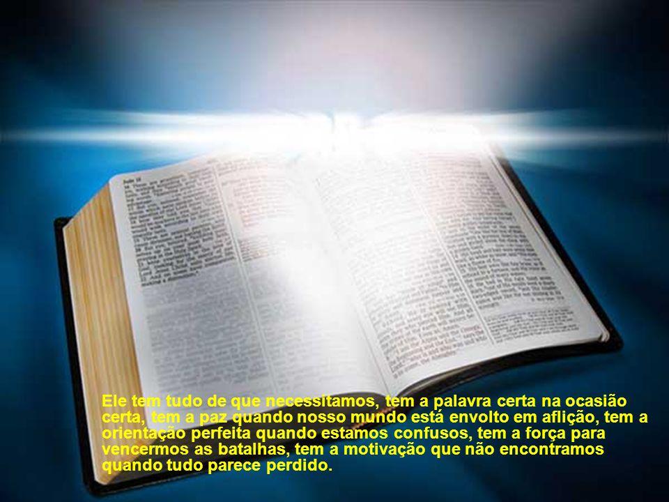 Precisamos, como filhos do Deus vivo, aprender a buscar o nosso alimento diretamente na fonte, aos pés do nosso Senhor e Salvador Jesus Cristo.