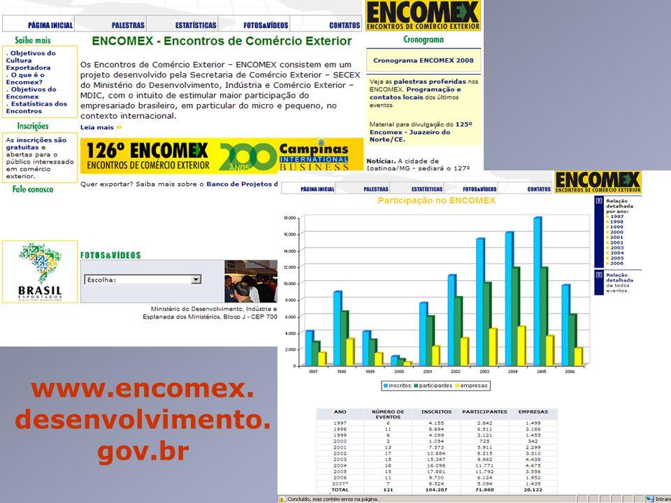 www.encomex. desenvolvimento. gov.br