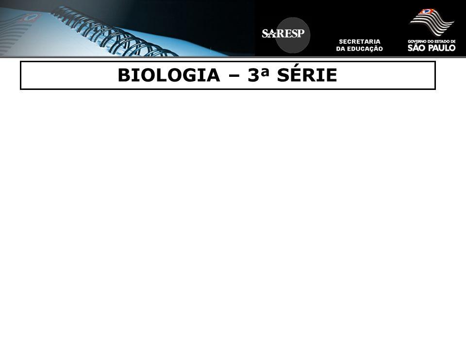 BIOLOGIA – 3ª SÉRIE