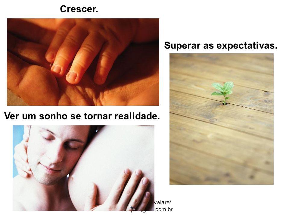 ATP Vânia Cavalare/ vaniaprof@uol.com.br Crescer. Superar as expectativas. Ver um sonho se tornar realidade.