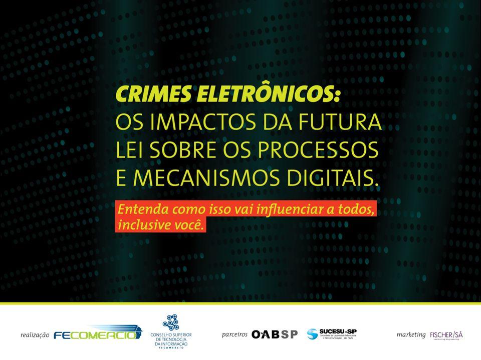 Evento – Crimes Eletrônicos e Formas de Proteção palestra: Crimes Virtuais (Eletrônicos / Cibernéticos) 03/08/2009 – FECOMERCIO Deputado Federal – Julio Semeghini (PSDB-SP) Membro da Comissão de Ciência e Tecnologia, Comunicação e Informática da Câmara Federal (CCTC&I) Considerações sobre Projeto de Lei – Crimes Cibernéticos 1- O Avanço de Incidentes Reportados na Internet do Brasil ; 2- Crimes Eletrônicos – Panorama da situação nos EUA; 3- Convenção de Budapeste; 4- Ação Legislativa - O Projeto de Lei nº 84, de 1999; 5- Pontos Polêmicos 6- Conclusões.