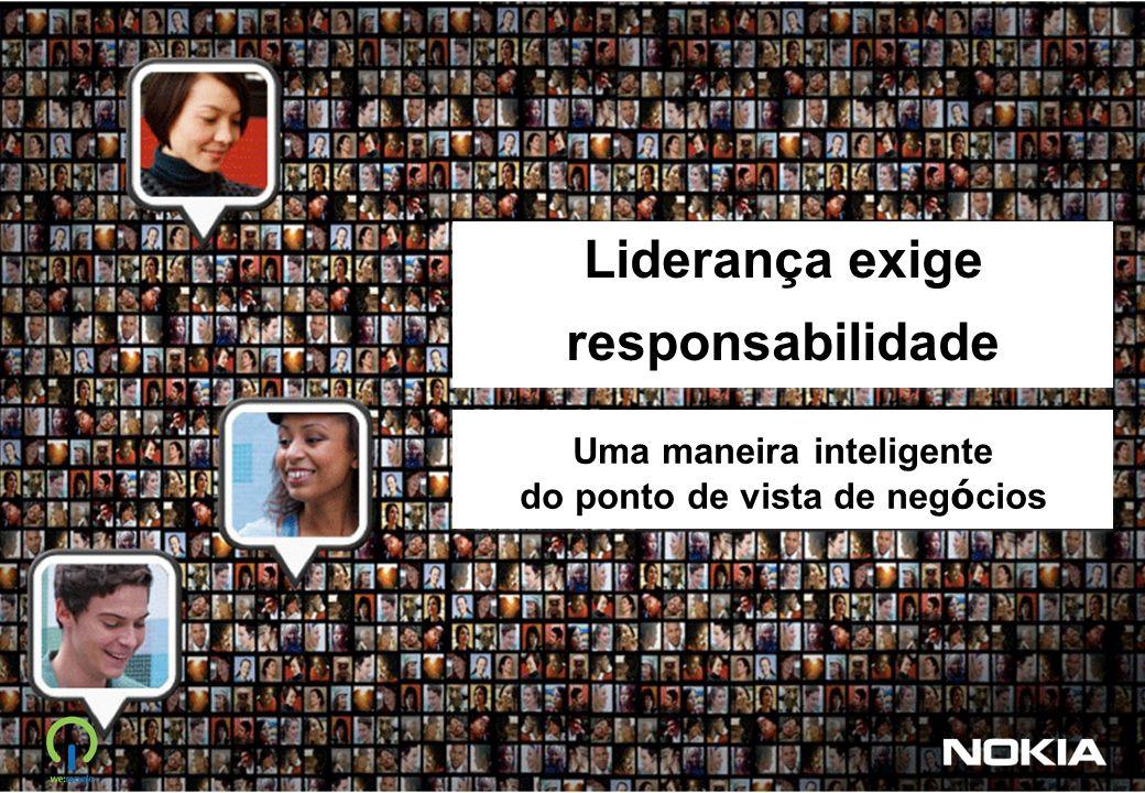 Liderança exige responsabilidade Uma maneira inteligente do ponto de vista de neg ó cios