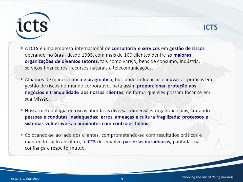© ICTS Global 2009