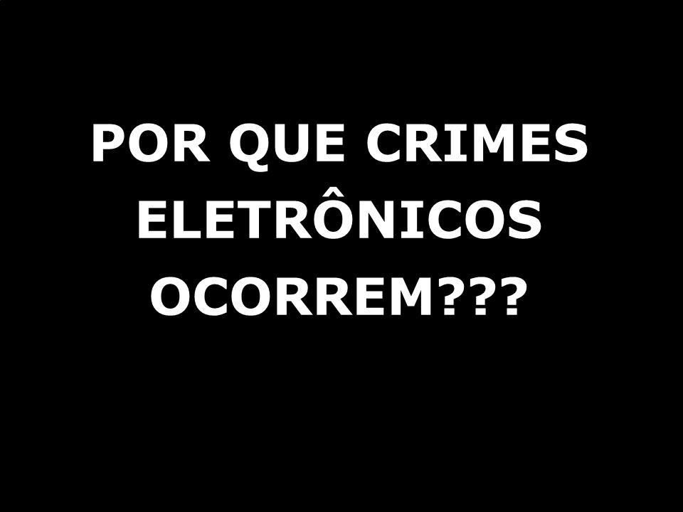 © ICTS Global 2009 PORQUE AS PESSOAS COMETEM CRIMES!