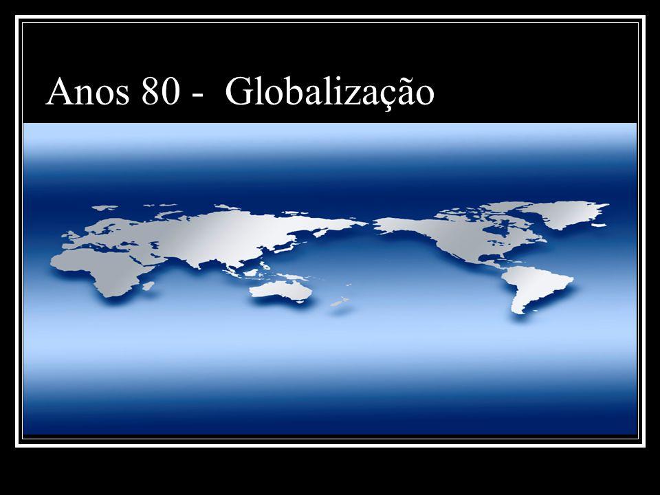 Anos 80 - Globalização