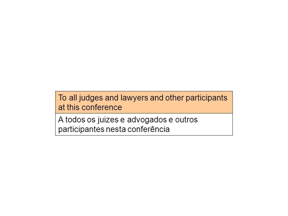 Greetings from the Federal Court of Canada Cumprimentos da corte federal de Canadá
