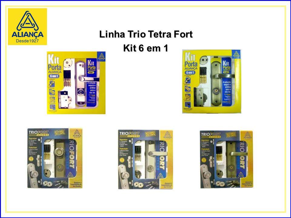 Linha Trio Tetra Fort Kit 6 em 1