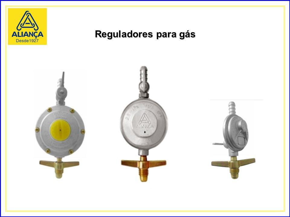 Reguladores para gás