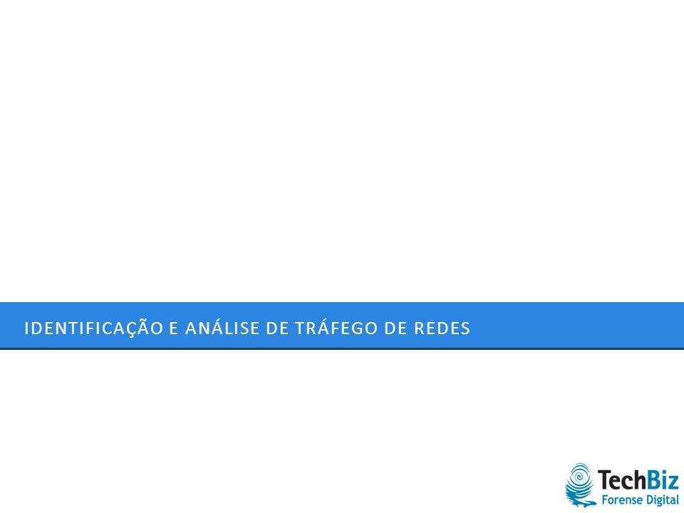 IDENTIFICAÇÃO E ANÁLISE DE TRÁFEGO DE REDES