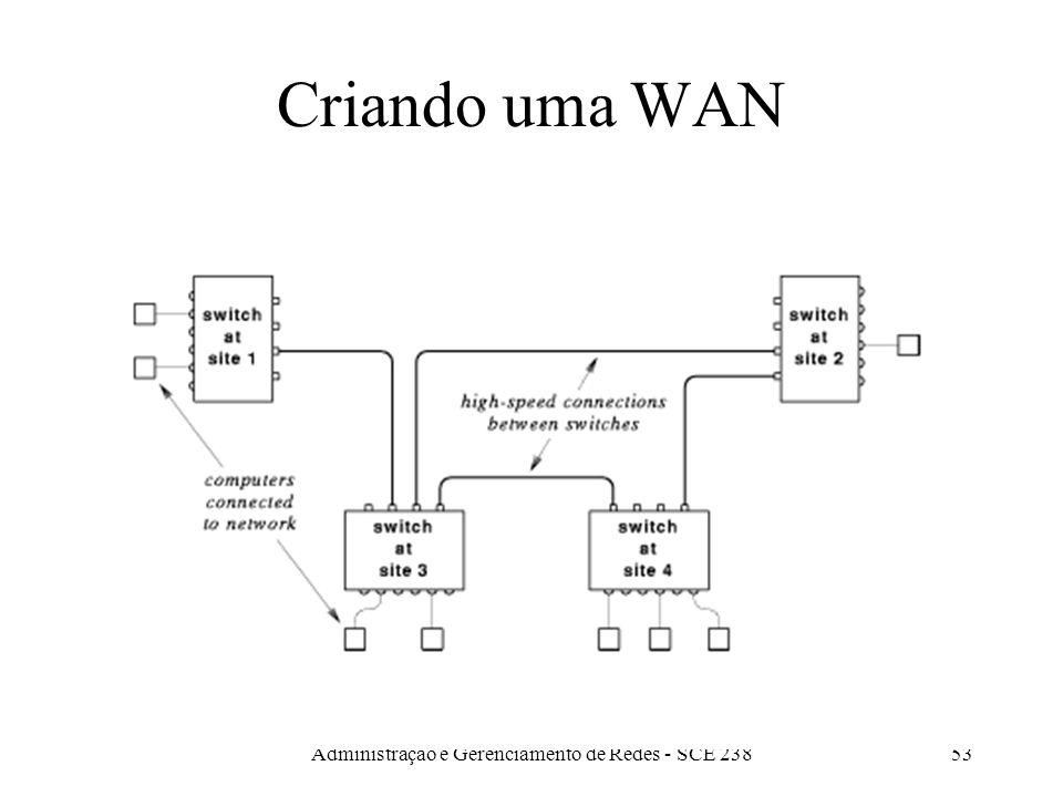 Administração e Gerenciamento de Redes - SCE 23853 Criando uma WAN