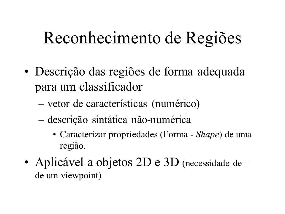 Processamento alto nível (reconhecimento e interpretação) reconhecimento de objetos, classificação, etc