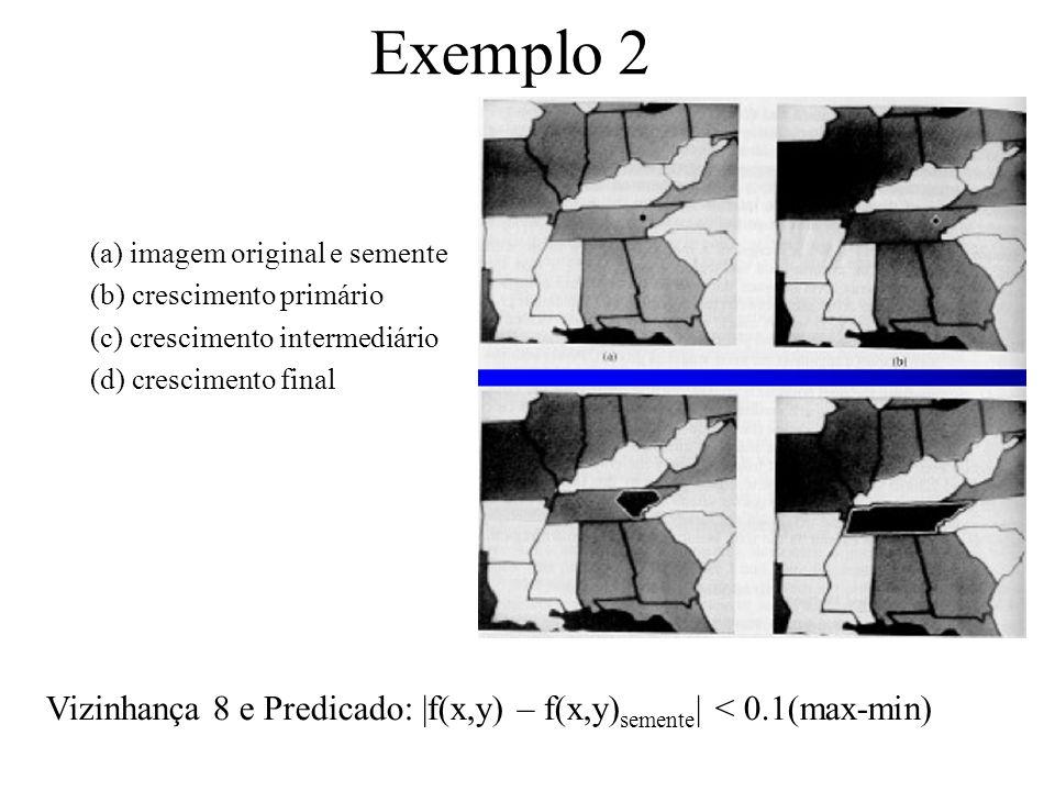 Sementes e Homogeneidade Como nós escolhemos a(s) semente(s) na prática –Depende da natureza do problema –Se alvos precisam ser detectados usando imag
