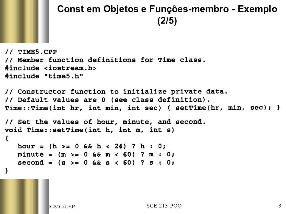 ICMC/USP SCE-213 POO 34 Contagem de número de objetos de uma classe (4/6)
