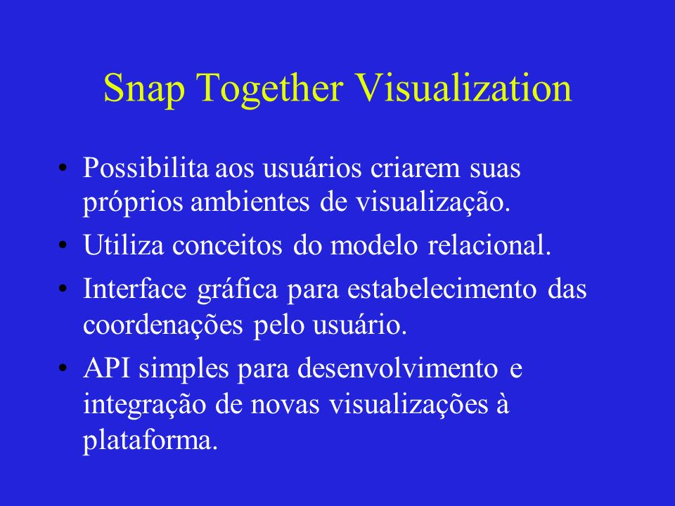 Snap Together Visualization