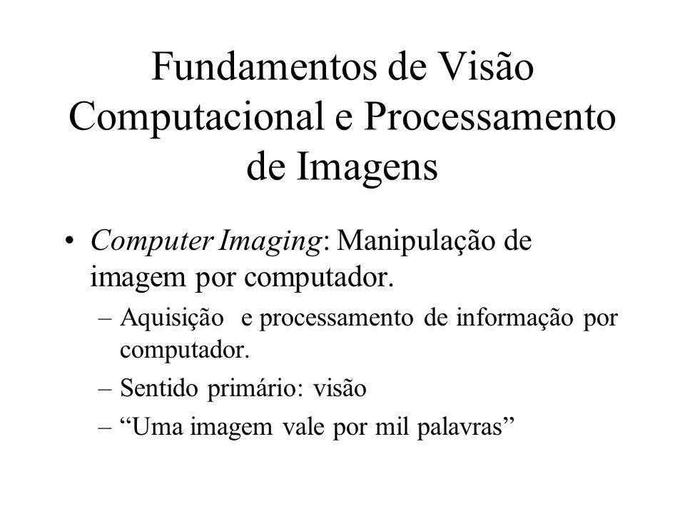 Processamento de Imagens SCC - 5830 Instituto de Ciências Matemáticas e de Computação USP