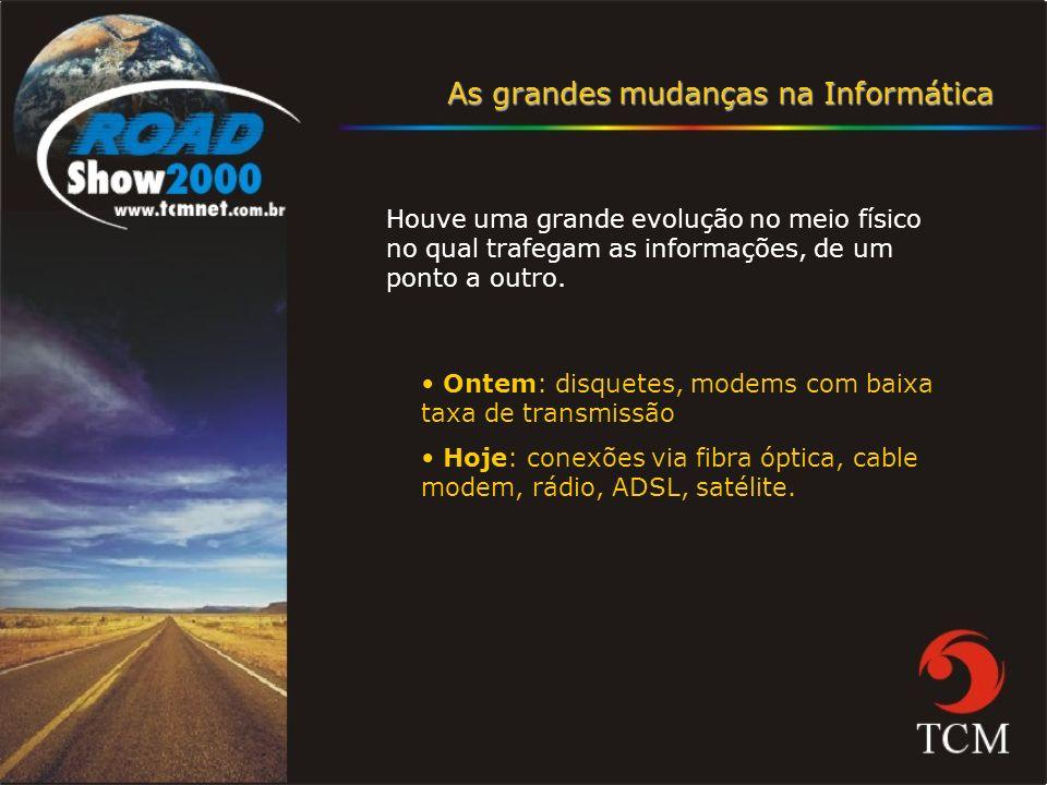 Meios de Acesso Corporativo à Internet Fibra Óptica ADSL (Linha digital de assinantes) Cabo televisivo (Cable modem) Rádio Satélite