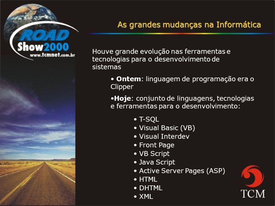 Este profissional deverá deter conhecimentos em: - Windows 2000 Server / Professional - Internet Explorer - Microsoft Excel - VBA - TCP/IP - Outlook - Exchange - FrontPage - Money Avançado - IIS - SQL - Proxy Programa de Certificação Nível Avançado