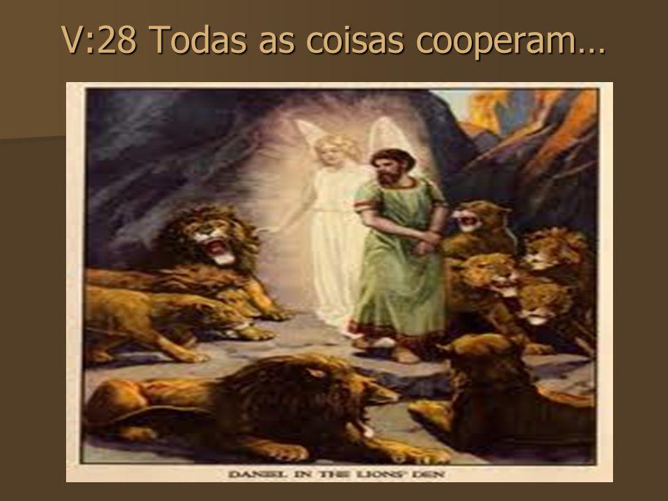 V: 31 Se Deus é por nós, quem será contra nós? V: 31 Se Deus é por nós, quem será contra nós?
