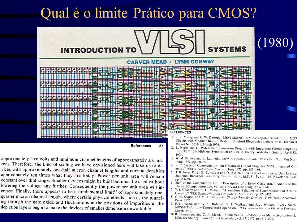 Qual é o limite Prático para CMOS? (1980)