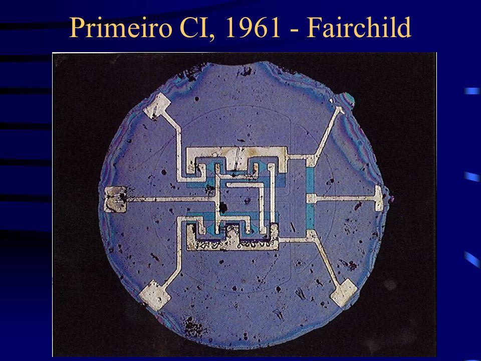 Primeiro CI, 1961 - Fairchild