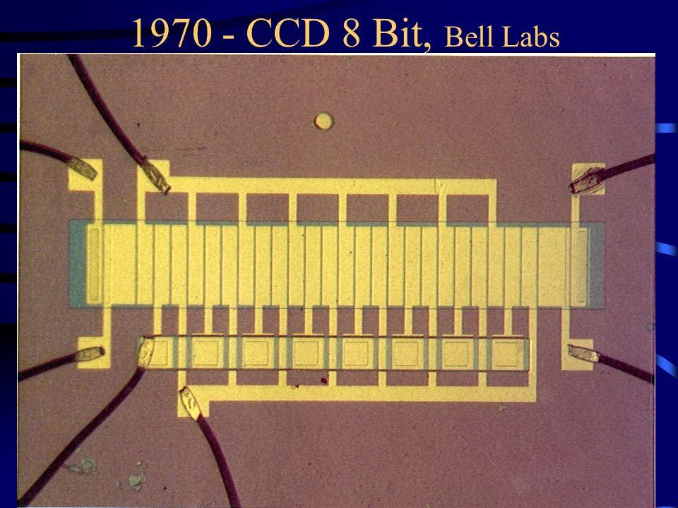 1970 - CCD 8 Bit, Bell Labs