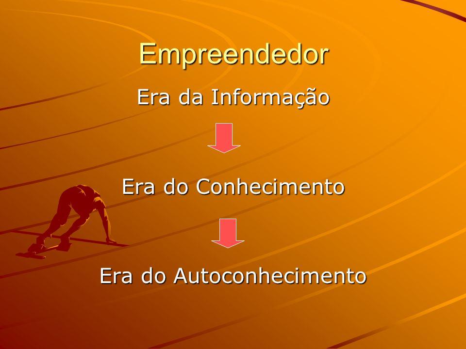 Empreendedor Era da Informação Era do Conhecimento Era do Autoconhecimento