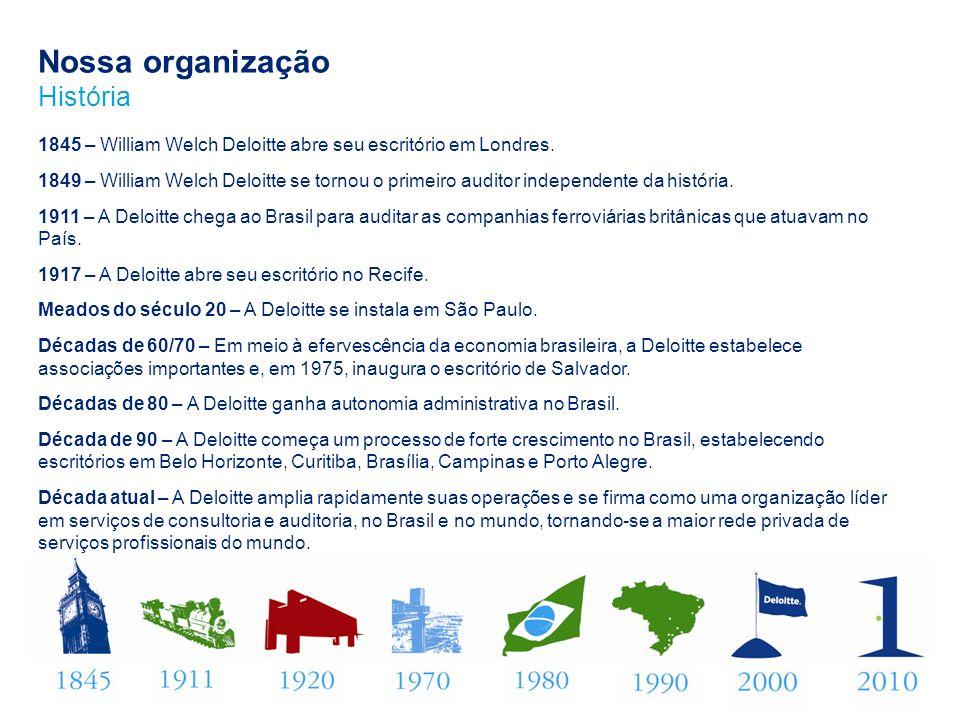 Deloitte screen small Jan 2010 Deloitte refere-se à sociedade limitada estabelecida no Reino Unido Deloitte Touche Tohmatsu Limited e sua rede de firmas-membro, cada qual constituindo uma pessoa jurídica independente e legalmente separada.