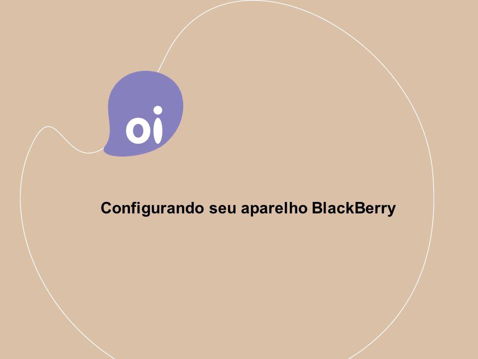 3 Configurando seu aparelho BlackBerry