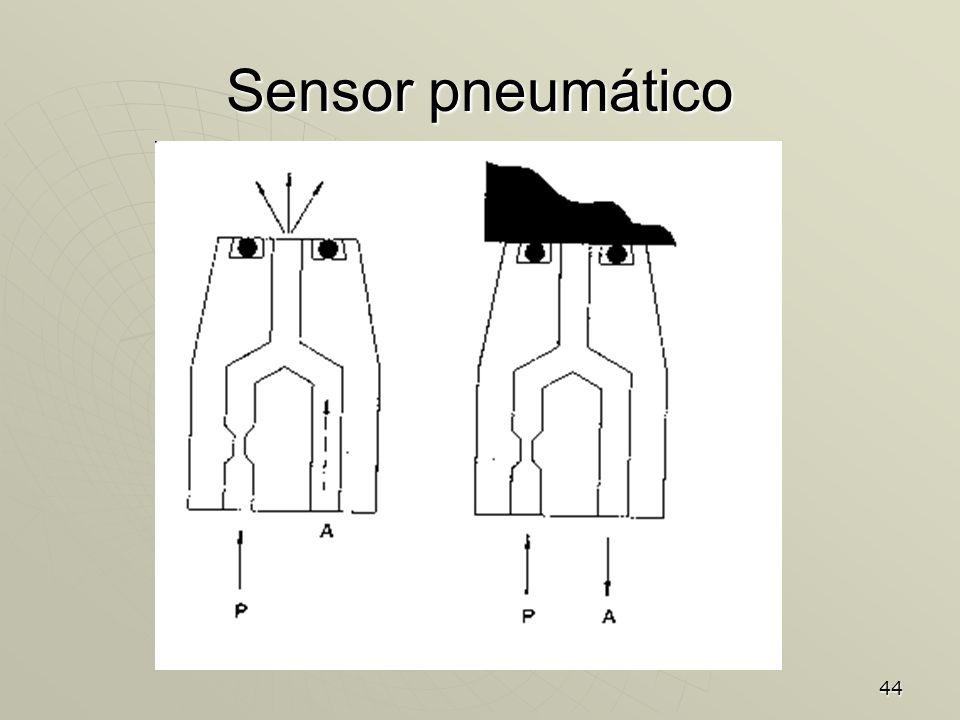 44 Sensor pneumático