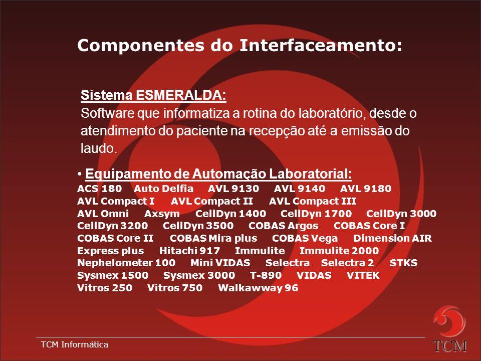TCM Informática Vantagens: Permite troca de dados sem interferência humana. Mais agilidade e probabilidade de erros muito próxima a zero: o técnico po