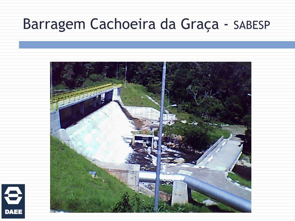 Barragem Cachoeira da Graça - SABESP
