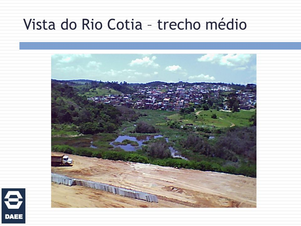 Vista do Rio Cotia – trecho médio